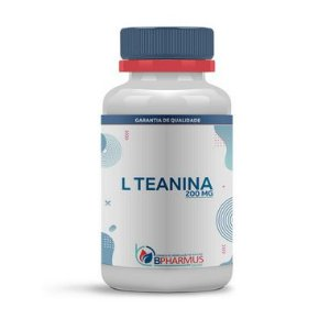 L Teanina 200mg - Bpharmus