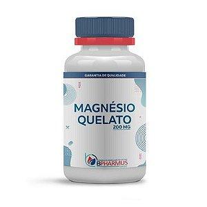 Magnésio Quelato 200mg - Bpharmus