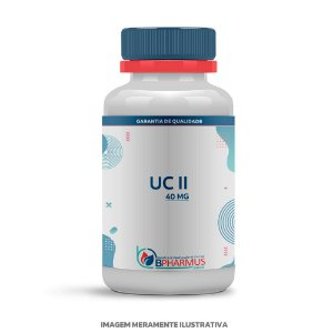 UC II Colágeno 40mg - Bpharmus