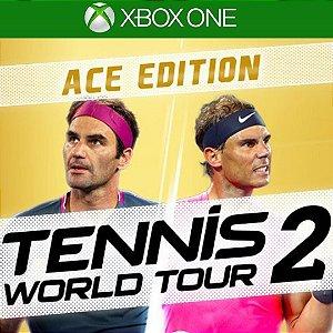 Comprar Jogo Tennis World Tour 2 Ace Edition Mídia Digital Online Xbox One - Series S/X