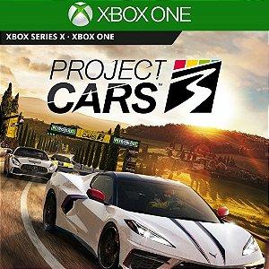 Comprar Jogo Project Cars 3 Mídia Digital Online Xbox One - Series S/X