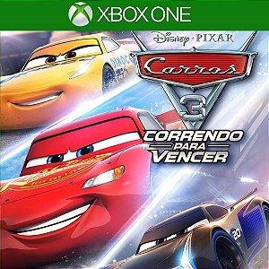 Comprar Jogo Carros 3 Mídia Digital Online Xbox One - Series S/X