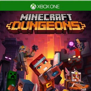 Comprar Minecraft Dungeons Hero Edition Mídia Digital Xbox One Online