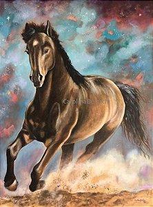 """""""Liberdade""""- Pintura Original ao óleo sobre tela 80x60 cm"""
