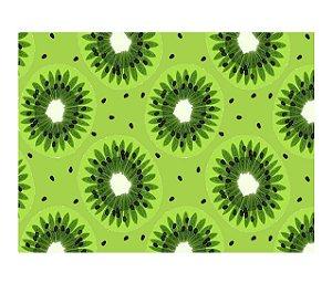 Jogo Americano (Kit 4 Unidades) Nerderia e Lojaria kiwi colorido