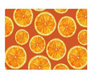 Jogo Americano (Kit 4 Unidades) Nerderia e Lojaria laranja colorido