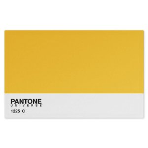 Jogo Americano (Kit 4 Unidades) Nerderia e Lojaria pantone amarelo colorido