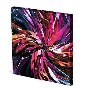 Tela Canvas 30X30 cm Nerderia e Lojaria catavendo 3d surreal colorido