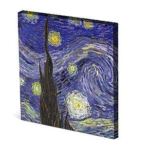 Tela Canvas 30X30 cm Nerderia e Lojaria paint pic colorido