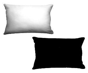 Combo De Fronha Para Travesseiros ( 2 und.) Galaxia Nerderia e Lojaria preto e branco colorido