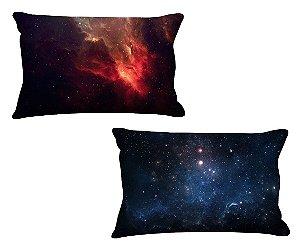 Combo De Fronha Para Travesseiros ( 2 und.) Galaxia Nerderia e Lojaria galaxia colorido