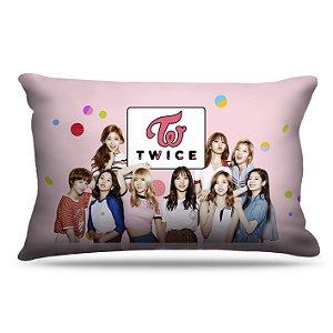 Fronha Para Travesseiros Nerderia e Lojaria kpop twice coreanas colorido