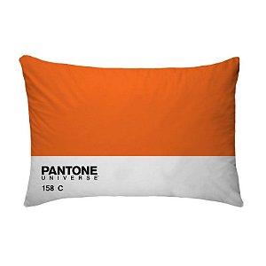 Fronha Para Travesseiros Nerderia e Lojaria pantone laranja colorido