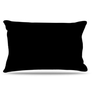 Fronha Para Travesseiros Nerderia e Lojaria preto colorido