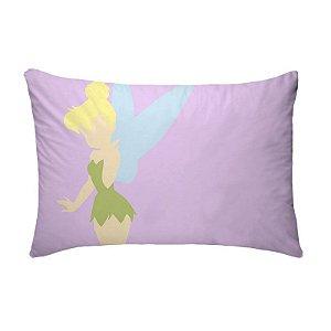 Fronha Para Travesseiros Nerderia e Lojaria princesa sinin colorido