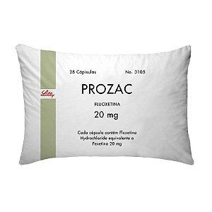 Fronha Para Travesseiros Nerderia e Lojaria remedio prozac colorido