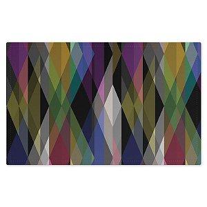 Jogo Americano (Kit 4 Unidades) Nerderia e Lojaria triangulos geometricos colorido