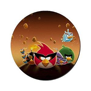 MOUSE PAD GAMER PEQUENO 20x24 cm Nerderia e Lojaria angry birds2 colorido