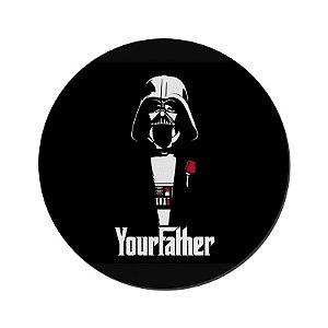 MOUSE PAD GAMER PEQUENO 20x24 cm Nerderia e Lojaria your father colorido