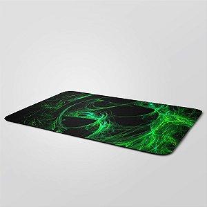 MousePad Gigante 27,5x90cm Nerderia e Lojaria green colorido