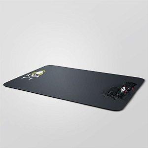 MousePad Gigante 27,5x90cm Nerderia e Lojaria pirata colorido