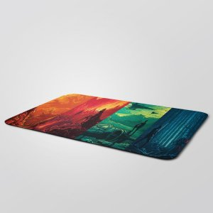 MousePad Gigante 27,5x90cm Nerderia e Lojaria star wars colorido