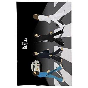 Pano De Prato Descorativo Nerderia e Lojaria Beatles vetor colorido