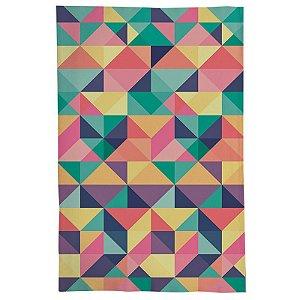 Pano De Prato Descorativo Nerderia e Lojaria Geometrica 09 colorido