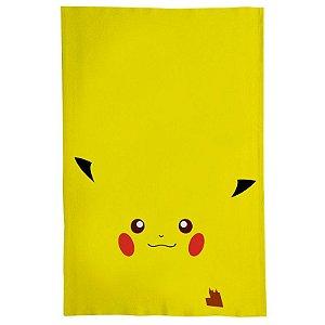 Pano De Prato Descorativo Nerderia e Lojaria pikachu2 colorido