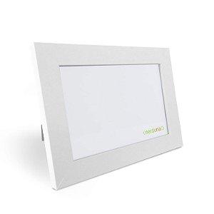 Porta Retrato 10x15 cm Nerderia e Lojaria basico branco basico branco