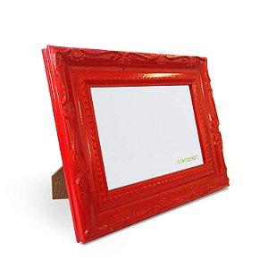 Porta Retrato 10x15 cm Nerderia e Lojaria Retro vermelho retro vermelho