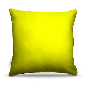Almofada 45 x 45cm  Nerderia e Lojaria amarelo claro colorido