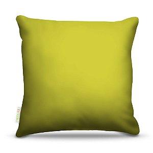 Almofada 45 x 45cm  Nerderia e Lojaria amarelo colorido