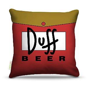 Almofada 40 x 40cm Nerderia e Lojaria bebidas duff beer colorido