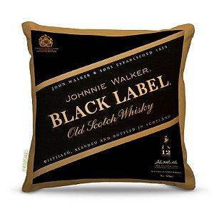 Almofada 40 x 40cm Nerderia e Lojaria black label colorido