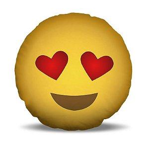 Almofada 40 x 40cm Nerderia e Lojaria smile apaixonado.png colorido