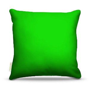 Almofada 40 x 40cm Nerderia e Lojaria verde claro colorido