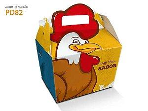 Embalagem para frango 25 uni