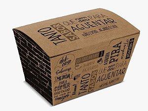 Embalagem para frituras 130gr 25 uni