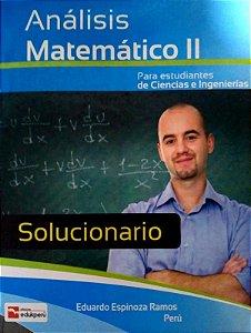 SOLUCIONÁRIO ANÁLISE MATEMÁTICO II