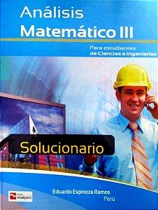 SOLUCIONÁRIO ANÁLISE MATEMÁTICO III
