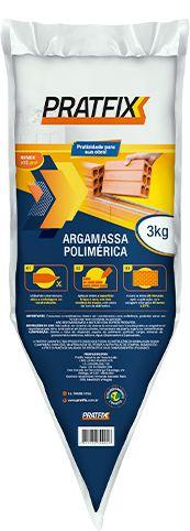 ARGAMASSA POLIMERICA 18Kg CAIXA COM 6 BISNAGAS