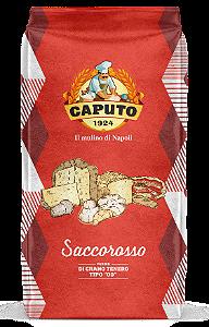 Farinha Italiana 00 Caputo Saccorosso Rinforzato Longa Fermentação 25kg