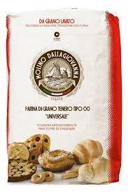 Farinha Italiana 00 Universale Molino dalla Giovanna Curta Fermentação 1kg