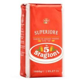 Farinha Italiana Tipo 00 Le 5 Stagioni Superiore 1kg