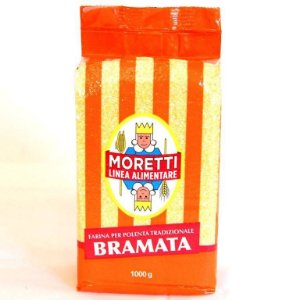 Polenta Italiana Tipo Bramata Moretti - 1kg