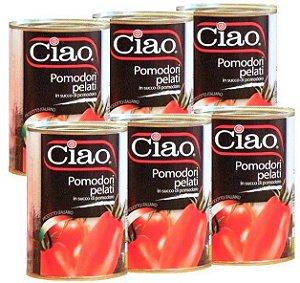 Tomate Pelati CIAO- 400g - 06 unidades