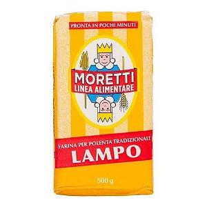 Polenta Instantânea Lampo Italiana  Moretti - 500g