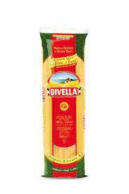 Spaghetti Trafilata N 8 Al Bronzo Italiano 500G Divella