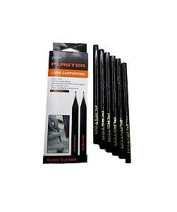 Lápis Carpinteiro 12 Unidades - Plaster